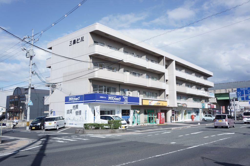 松江市上乃木にある三島ビルの外観